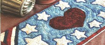 primitive rug hooking offers original primitive hooked rug designs rug hooking wool and punch needle embroidery