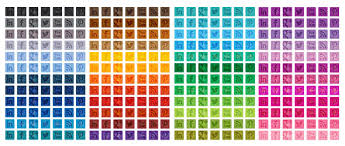 Free Tone-on-Tone Square Social Media Icons in 48 Different Colors