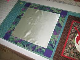 Quilt to the Edge....: Preparing satin fabric for quilting & Preparing satin fabric for quilting Adamdwight.com