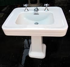 vintage pedestal sink. Contemporary Vintage And Vintage Pedestal Sink