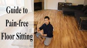 floor sitting guide how to sit