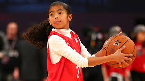 Watch Kobe's 11-year-old daughter hit her dad's signature ...
