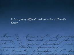 Difficult Essay Topics Narrative Essay About A Difficult