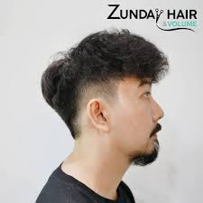 ดดผมแบบหยก เซอรๆ สไตลวนเทจ Zunday Hair Volume