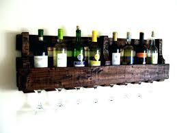 wall wine cabinet wooden hanging rack plans build storage wood glass large size racks mounted bottle