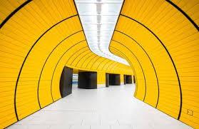 architecture yellow. wonderful exploration of german metro stations architecture yellow o