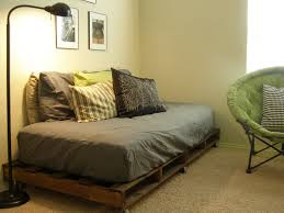 build bed frame out pallets create
