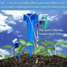 Ohwens 12Pcs <b>Plant</b> Self <b>Watering</b> Spike <b>Adjustable Automatic</b> Drip ...