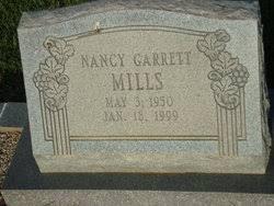 Nancy Priscilla Garrett Mills (1950-1999) - Find A Grave Memorial