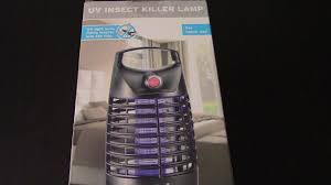 Uv Insect Killer Lamp Lidl Youtube