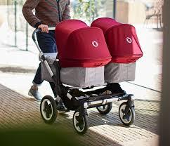 Designer Twin Prams Bugaboo Donkey 2 Twin Twin Strollers