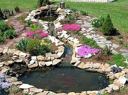 Simple DIY Backyard Garden House Design With Small Ponds With Small Ponds In Backyard