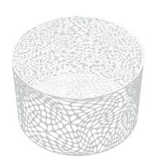 metal patio coffee table modern round metal coffee table brilliant white