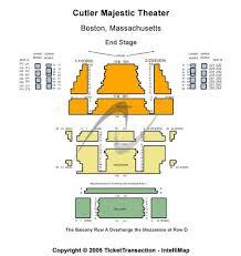 Emerson Majestic Seating Chart Cutler Majestic Theatre Tickets Cutler Majestic Theatre In