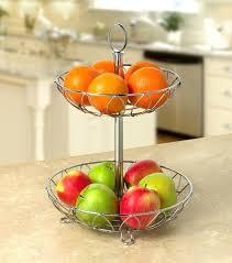 tiered fruit holder new leaf 2 tier server chrome basket fruit kitchen metal storage vegetable stand 2 tier fruit and veg holder