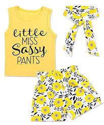Newborn Baby Girls Clothes Floral Sleeve Romper+ ... - Amazon.com