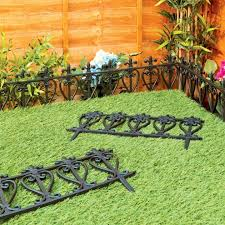 flower garden fence ideas elegant border uk fencing picket pertaining to 14