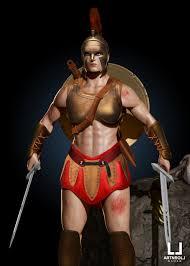 amazon warrior art. Wonderful Art Amazon Warrior Concept By Constantine Sculpting U0026 Alex Papadopoulos  Texturing Painting For Art R