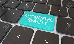 Augmented Reality Vs Virtual Reality Venn Diagram Augmented Reality Computer Key Ar Virtual Vr 3d Illustration Stock