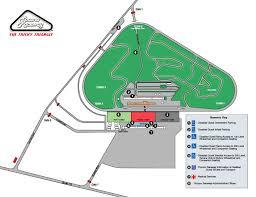 Ada Access Map Pocono Raceway Pocono 400 Gander Rv 400