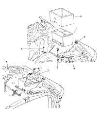 2005 dodge ram 3500 battery tray wiring