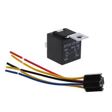waterproof car relay dc 12v 40a 5pin automotive fuse relays  at How To Open Fuse Relay Box