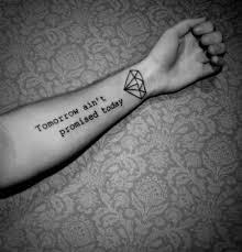 Mc3a4nner Unterarm Tattoo Schrift 1 Gute Bilder