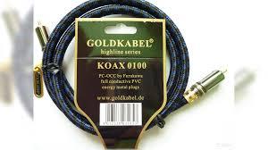 Новый <b>кабель</b> GoldKabel highline koax 1.0m купить в Московской ...