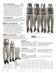 Simms G4z Waders Size Chart The Fly Fish Shop 2014 By M H Issuu