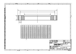 Flange Od Id Pcd Chart Galvanised Flange