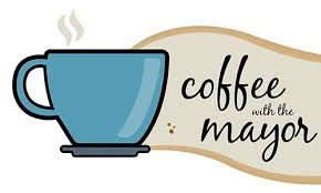 Image result for coffee and conversation with the mayor clipart