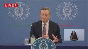 Nuovo Decreto Covid, la conferenza stampa di Draghi - la Repubblica