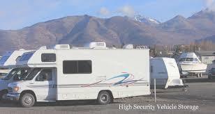 anchorage vehicle storage in anchorage