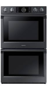 samsung black stainless stove. Plain Black New Samsung Black Stainless Steel Electric Double Wall Oven With Steam Cook On Stove L