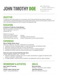 Colorful Resume Examples
