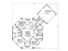 plan 72168da hexagonal retreat third, house and architecture Contemporary Beach House Plans Designs floor plan hexagon house contemporary home, 059h 0142 Contemporary Coastal House Plans