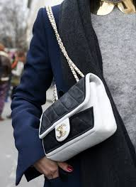 black and white chanel bags. how gorgeous is this black-and-white chanel bag? we also love the black and white bags h