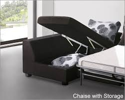 attractive sleeper sofa with storage chaise with modern sectional set with sleeper sofa and storage chaise 33ls61