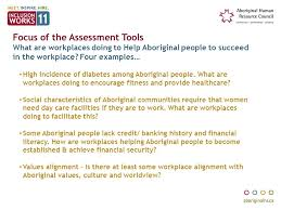 workplace values assessment aboriginal workplace inclusion learning system ppt video