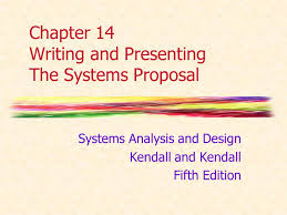 Chapter 14 Writing And Presenting The Systems Proposal Ppt Video