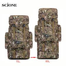 <b>70L</b> 85L <b>Tactical Bag Military Backpack</b> Mountaineering Men Travel ...