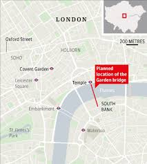 Small Picture The Garden Bridge Temple South Bank Cancelled SkyscraperCity