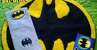 bat blog batman toys and collectibles new photo of the batman bath rug and hand towels seen at target s