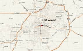 fort wayne location guide Ft Wayne Indiana Map fort wayne streetview map fort wayne indiana map