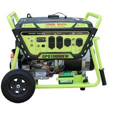 Electric Start Generators Outdoor Power Equipment The Home Depot