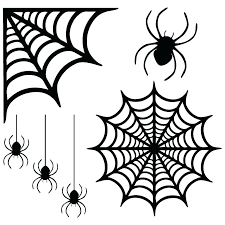 Spider Pattern Printable Spider Web Stencils For Pumpkin Carving Diagram Excel
