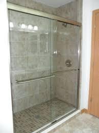sliding glass shower doors our custom glass showers doors semi frameless sliding glass shower doors