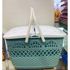 Giỏ đựng đồ sơ sinh - làn đi sinh cho mẹ và bé cao cấp có quai
