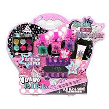 kids makeup kit. buy glitter glam play set girls fashion makeup kit for kids with real cosmetics online