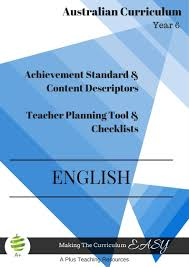 Editable Checklists Year 6 A Plus Teaching Resources